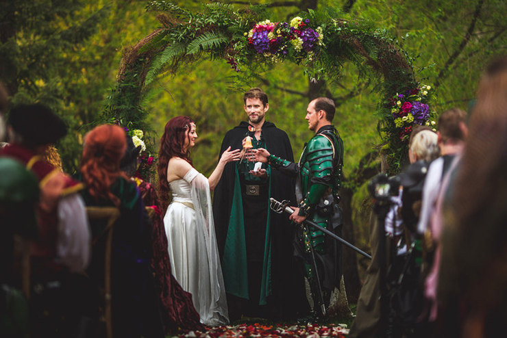 casamentos geek