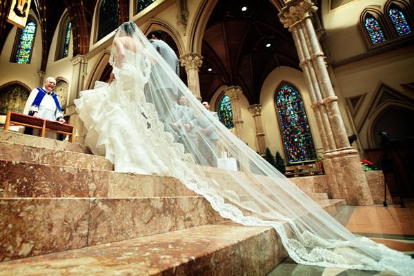 Quais são os principais tipos de véu de noiva?