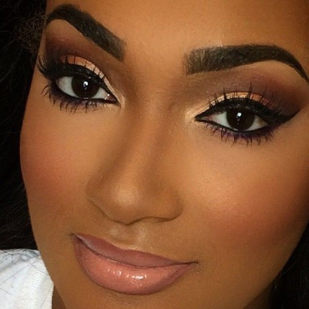 Wedding Makeup Looks For Black Ladies : Make para Noivas: varias inspirac?es para voc? escolher ...