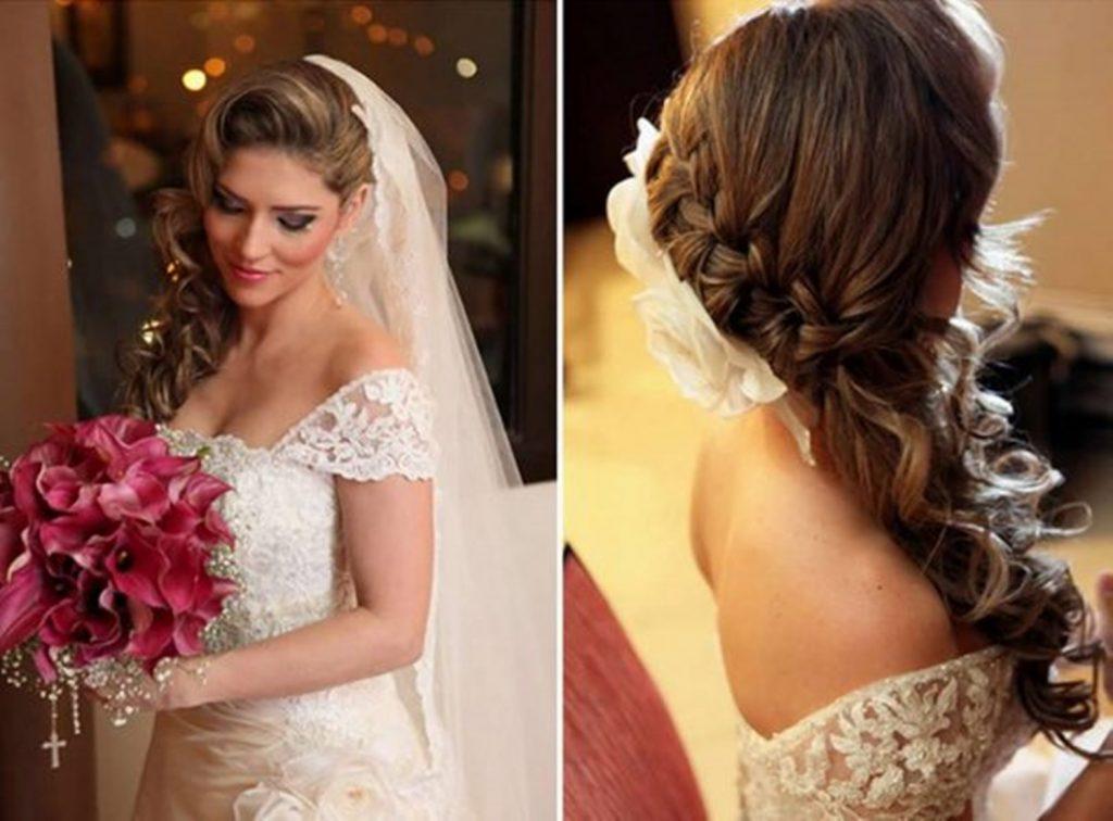 penteados para noivas com trança