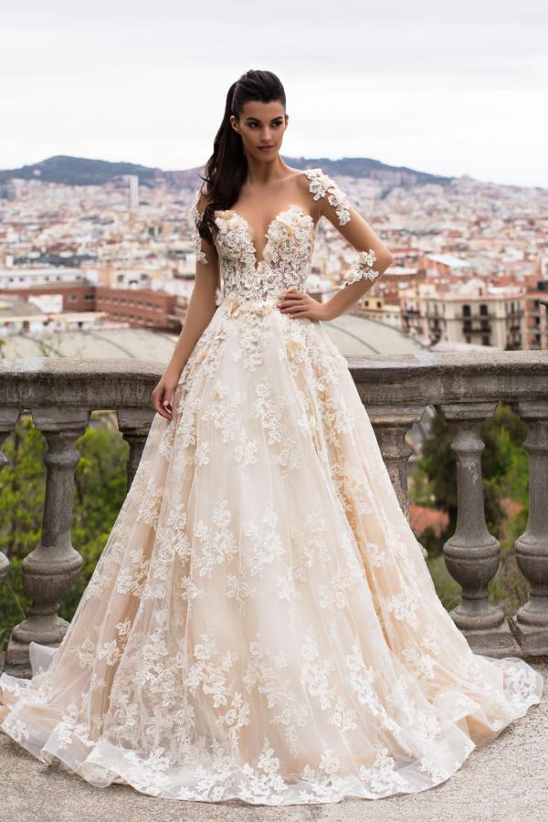 vestidos de noiva 2018