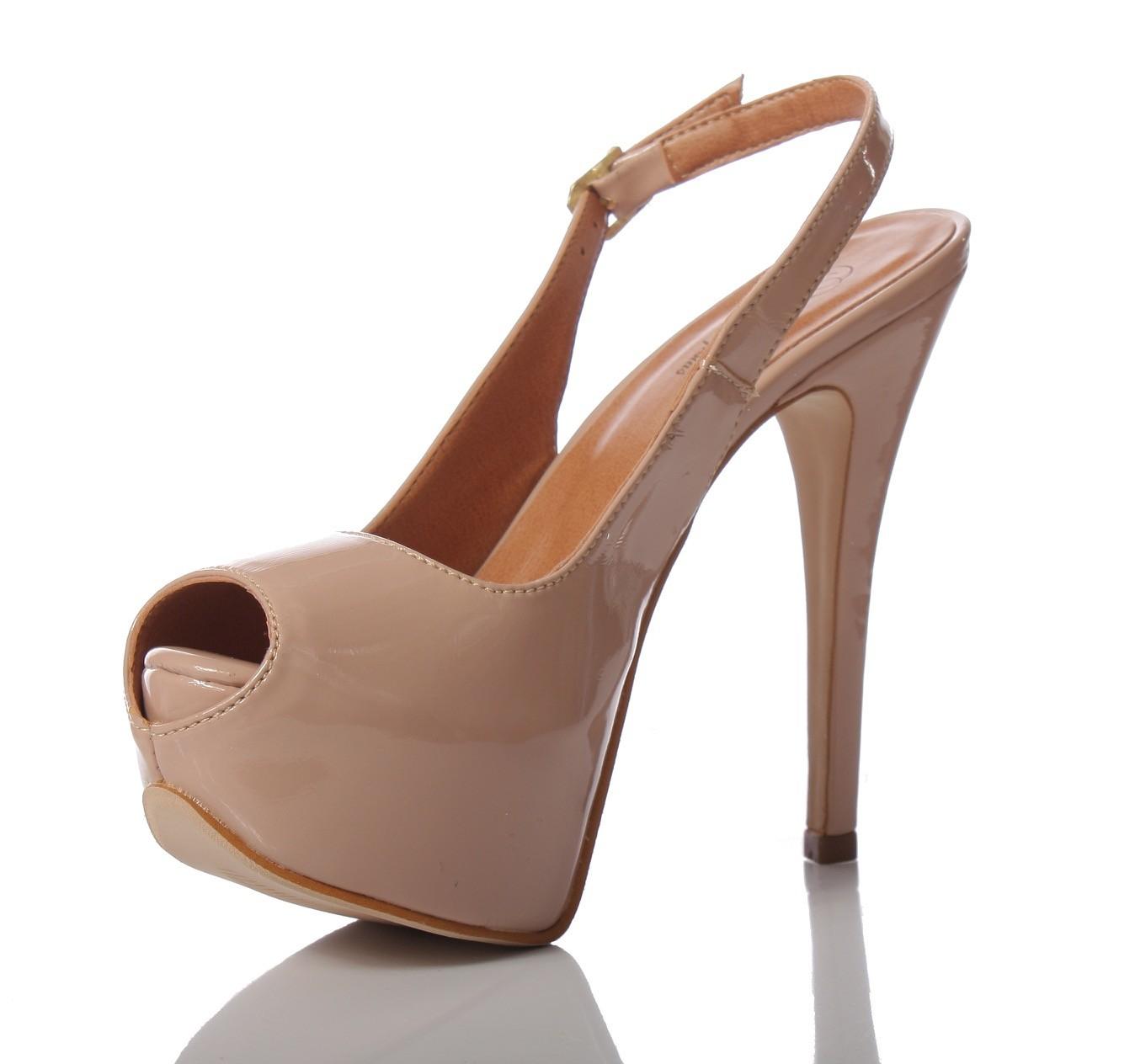 b3933a215 Sapato para noivas e festas PNF 10 Nude- Patrícia Noivas e Festas