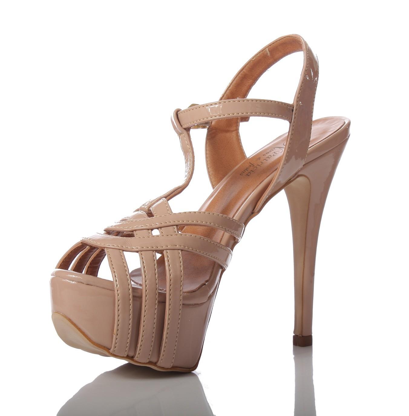 3c701f6f5 Sapato para Noivas e Festas Nude - PNF 15