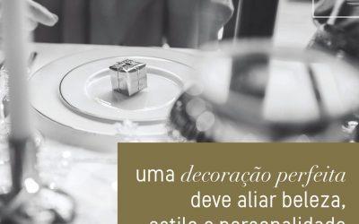 Decoração de casamento: reflexo da personalidade na estética do evento