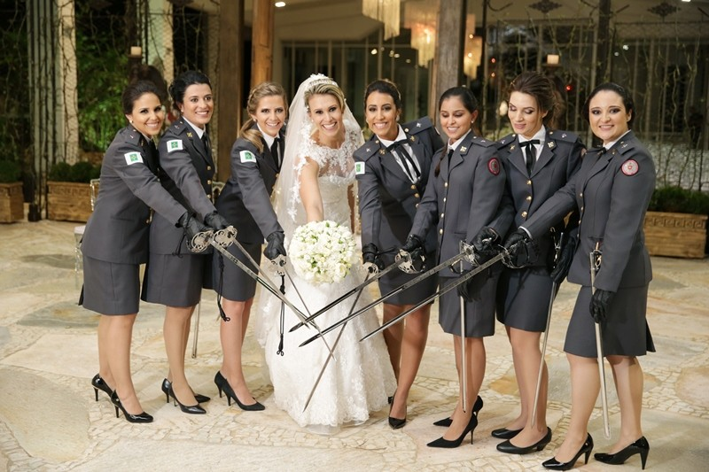 casamento militar