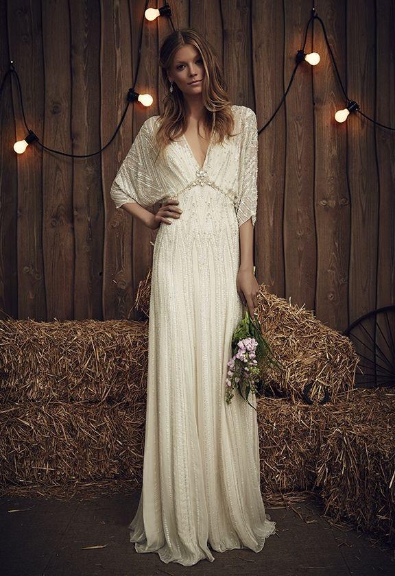 vestido de noiva boho chic