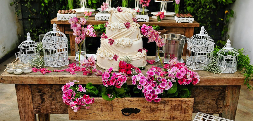 sabores de bolo de casamento