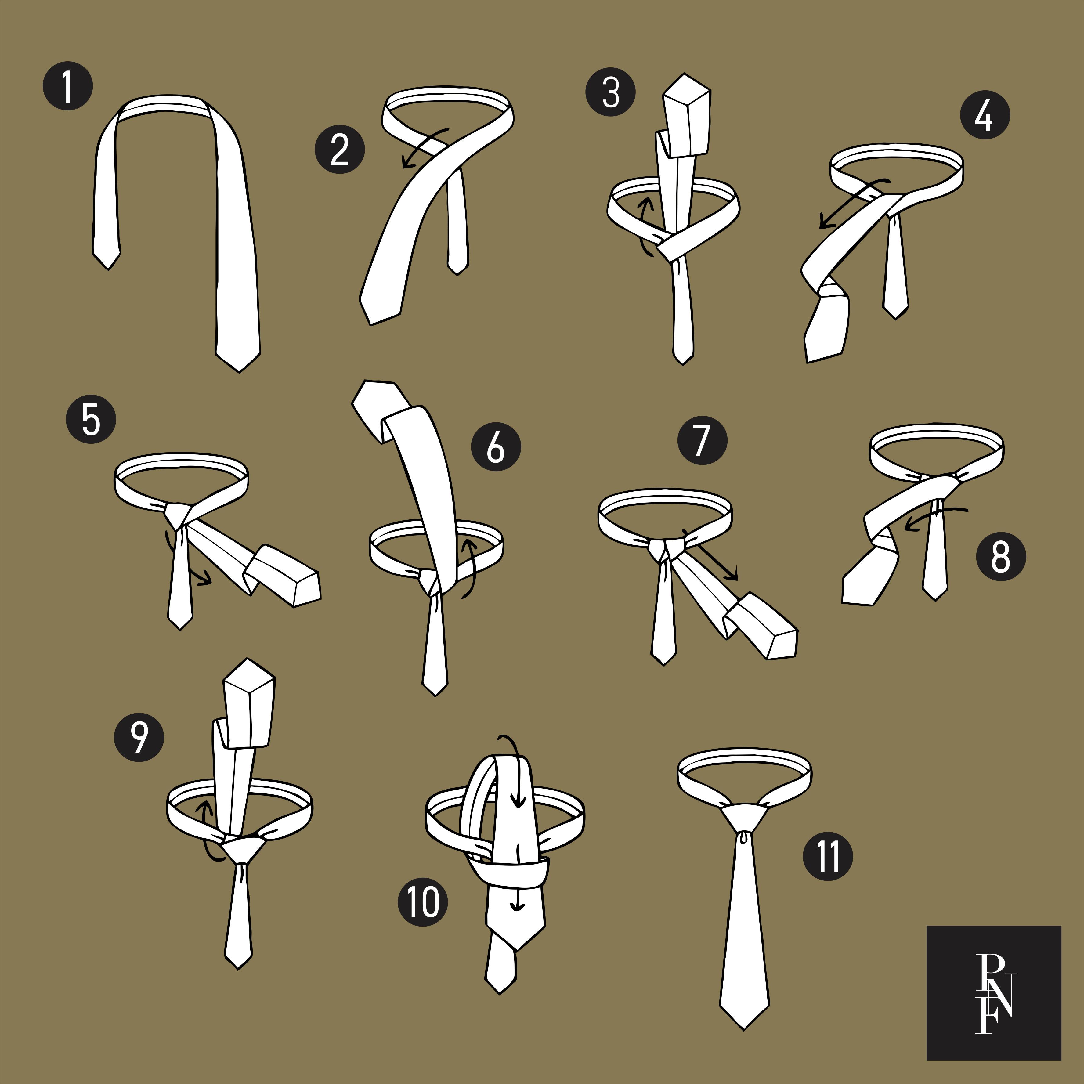 Como dar nó em gravata: nó windsor