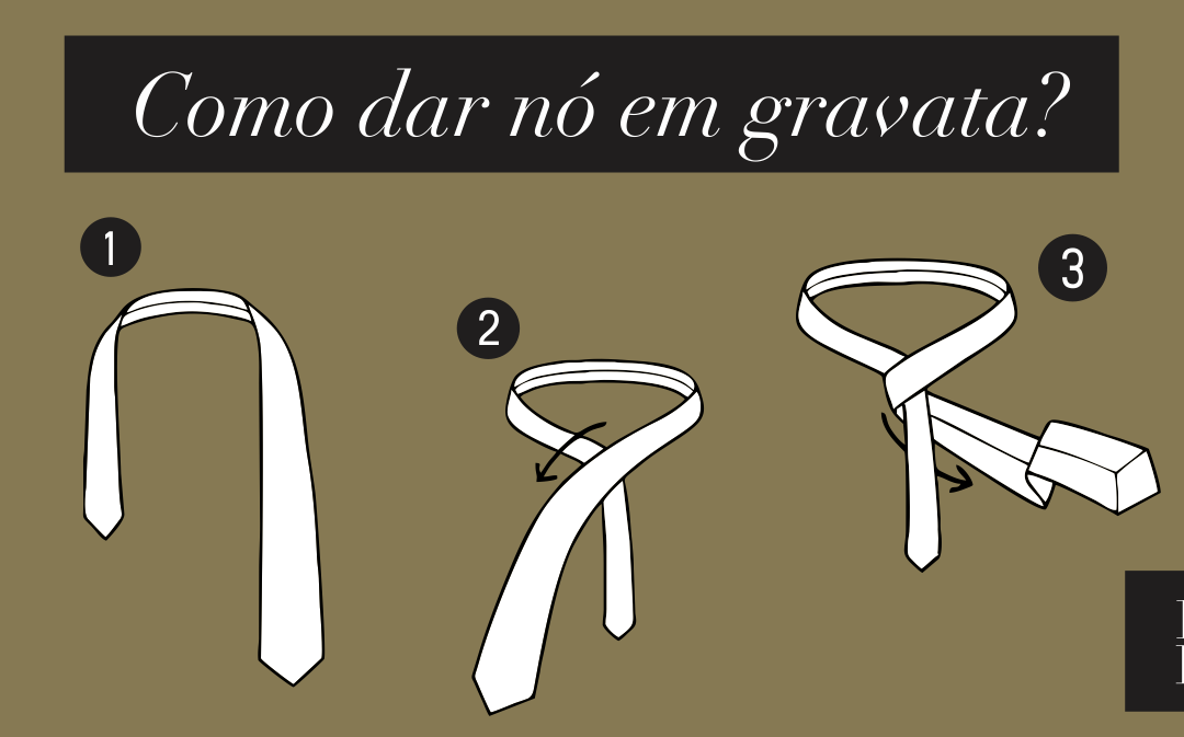 Como dar nó em gravata? Aprenda com dicas simples!