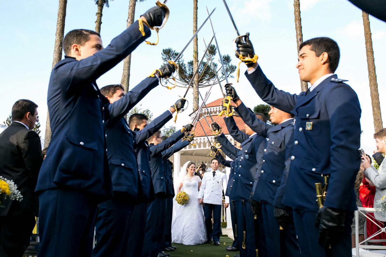Casamento militar: aprenda as principais tradições da cerimônia!