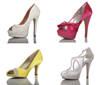 Os 6 modelos de sapatos para noivas mais desejados