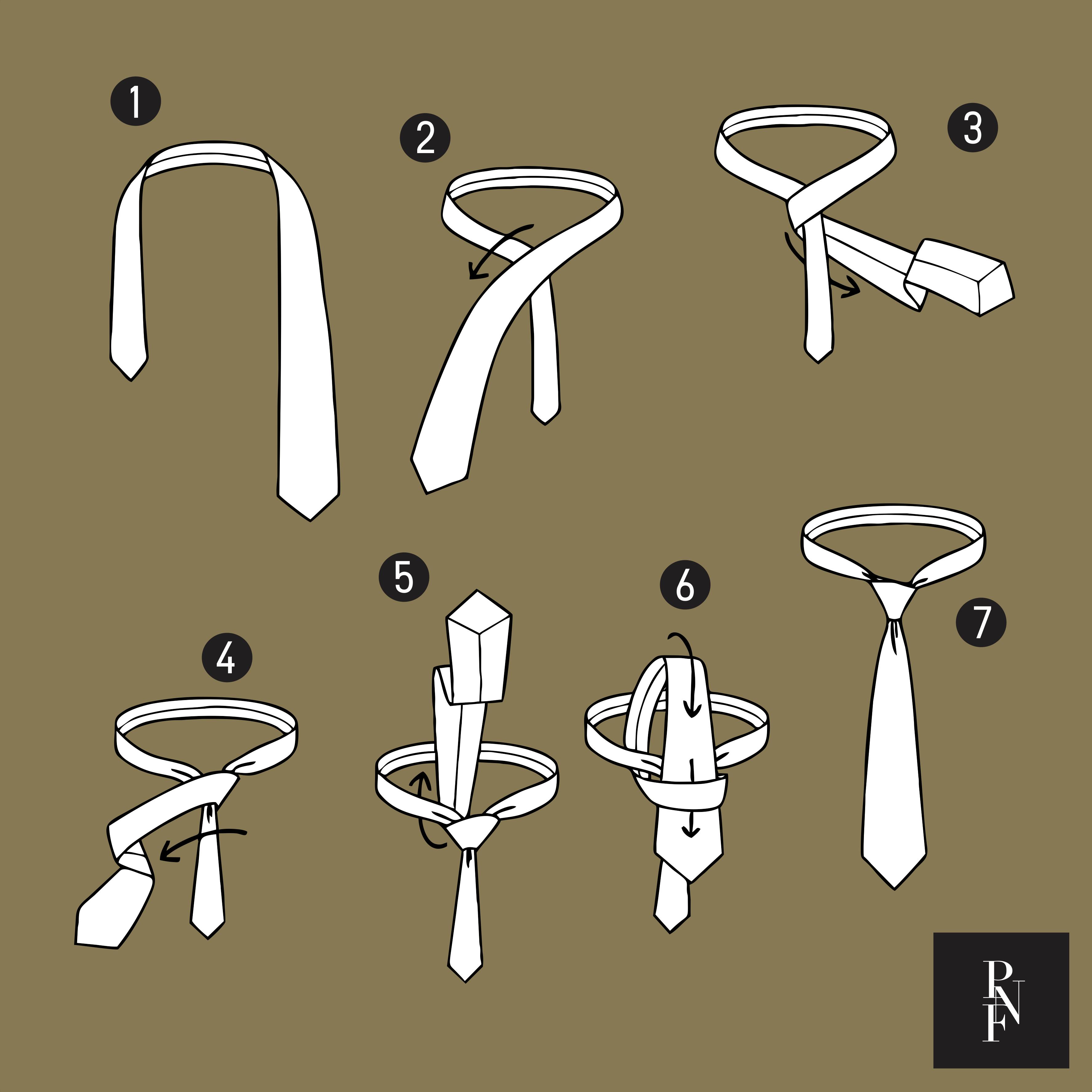 Como dar nó em gravata: nó duplo