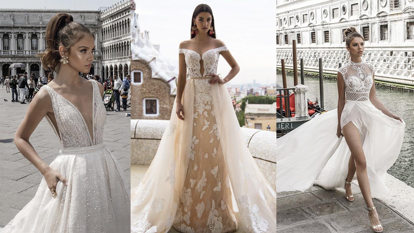 dada21bf96 Tendências em vestidos de noivas 2018  6 detalhes para se inspirar