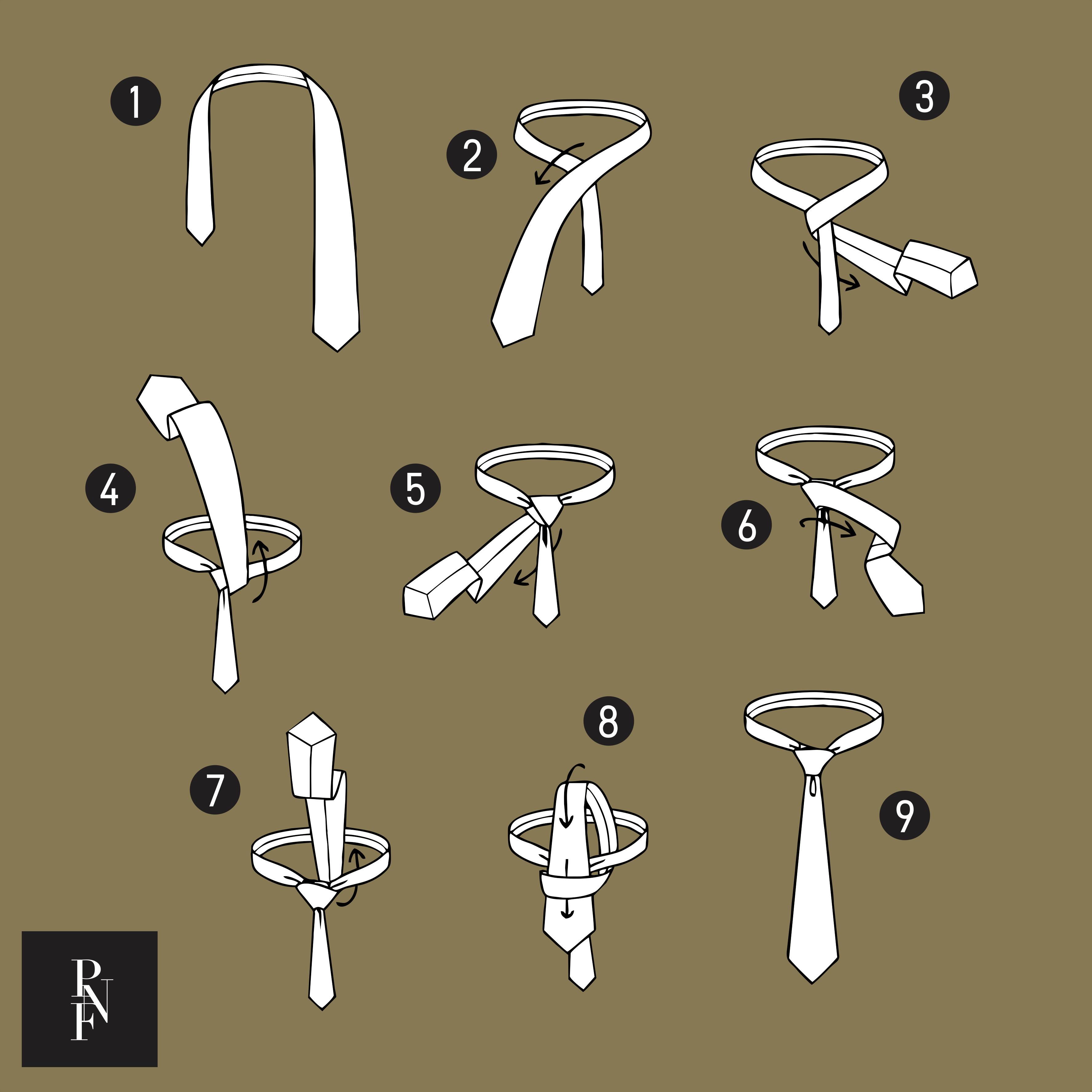 Como dar nó em gravata: nó semi-windsor