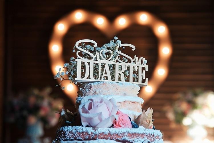 Topo de bolo de casamento: 5 ideias para se inspirar!