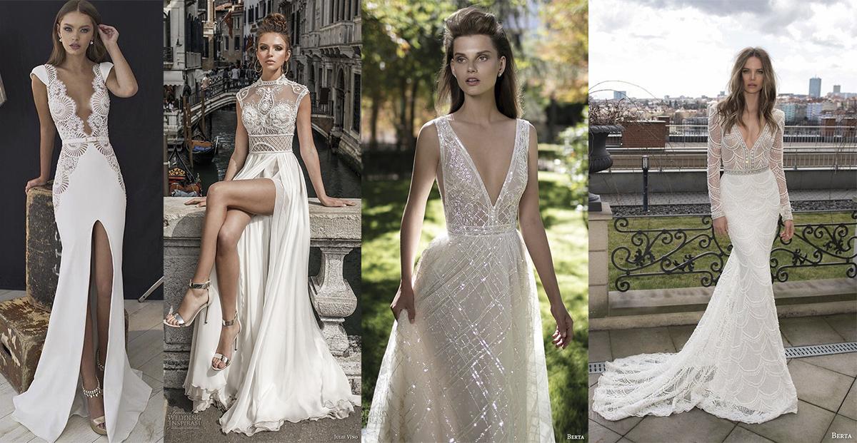 Sexy sem ser vulgar: 5 formas de usar um vestido de noiva sensual