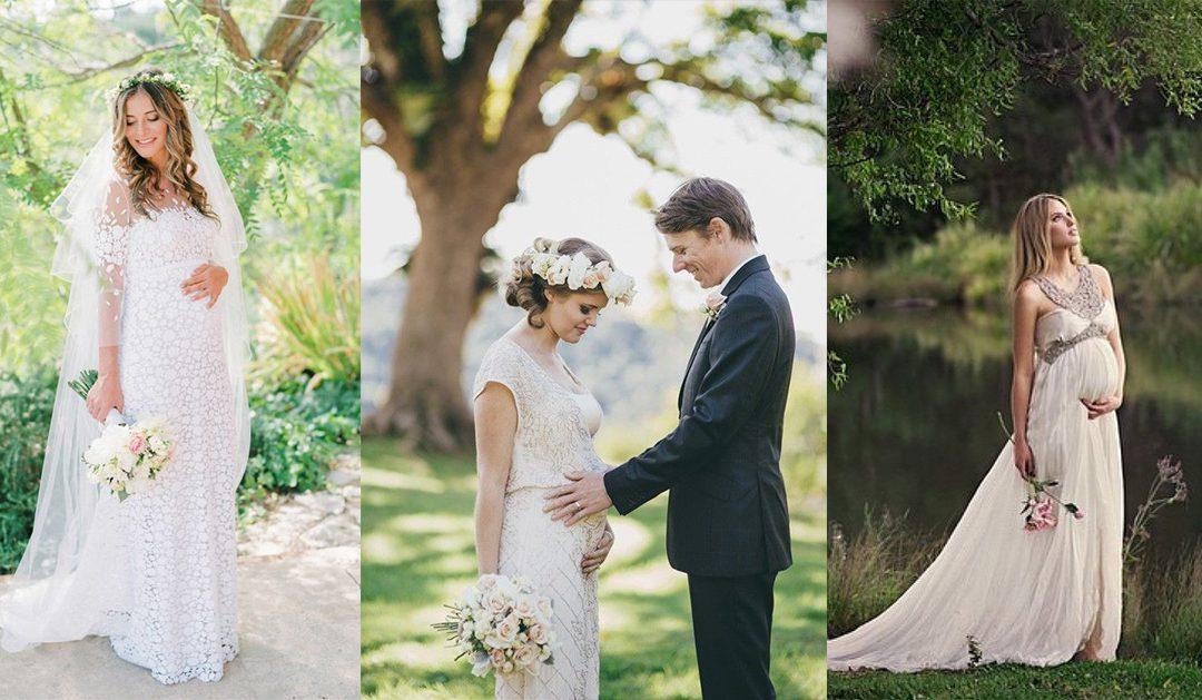 Vestido de noiva para grávidas: 5 dicas para escolher o seu!